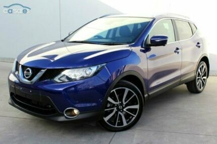 2014 Nissan Qashqai J11 TL Ink Blue 1 Speed Constant Variable Wagon Berwick Casey Area Preview