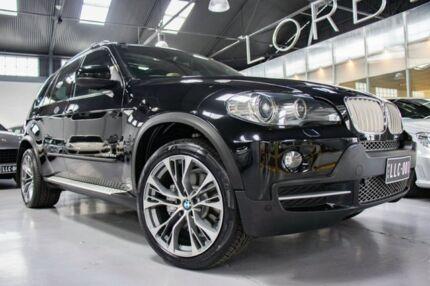2009 BMW X5 E70 MY09 xDrive 35D Black Sapphire 6 Speed Auto Steptronic Wagon Port Melbourne Port Phillip Preview