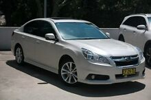 2014 Subaru Liberty B5 MY14 2.5i Lineartronic AWD Premium White 6 Speed Constant Variable Sedan Meadowbank Ryde Area Preview
