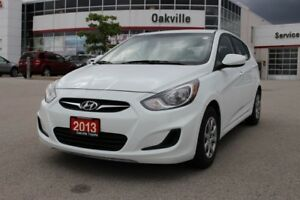 2013 Hyundai Accent L w/manual transmission
