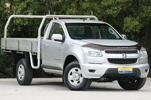 2013 Holden Colorado RG MY13 LX Silver 6 Speed Sports Automatic Cab Chassis Ferntree Gully Knox Area Preview