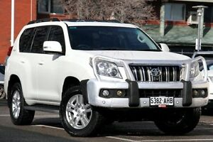 2010 Toyota Landcruiser Prado KDJ150R Kakadu Crystal Pearl 5 Speed Sports Automatic Wagon Adelaide CBD Adelaide City Preview