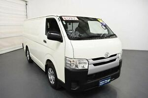 2014 Toyota Hiace KDH201R MY14 LWB French Vanilla 4 Speed Automatic Van Moorabbin Kingston Area Preview