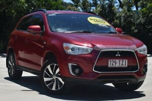 2014 Mitsubishi ASX XB MY15 LS 2WD Red 6 Speed Constant Variable Wagon Toowoomba Toowoomba City Preview