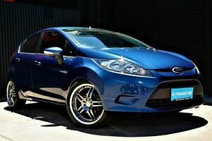 2009 Ford Fiesta WS CL Blue 4 Speed Automatic Hatchback Underdale West Torrens Area Preview