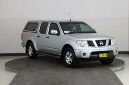 2007 Nissan Navara D40 ST-X Silver 6 Speed Manual Dual Cab Pick-up Smithfield Parramatta Area Preview
