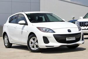 2013 Mazda 3 BL10F2 MY13 Neo Activematic White 5 Speed Sports Automatic Hatchback Blacktown Blacktown Area Preview