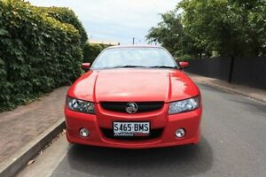 2005 Holden Ute VZ Storm S Red 4 Speed Automatic Utility Hove Holdfast Bay Preview