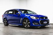 2017 Holden Commodore VF II MY17 SV6 Sportwagon Blue 6 Speed Sports Automatic Wagon Welshpool Canning Area Preview