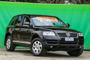 2004 Volkswagen Touareg 7L 4XMotion Black 6 Speed Sports Automatic Wagon Ringwood East Maroondah Area Preview