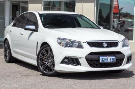 2014 Holden Special Vehicles Senator GEN-F MY15 Signature White 6 Speed Sports Automatic Sedan