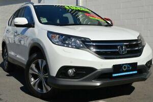 2013 Honda CR-V RM MY14 VTi-L 4WD White 5 Speed Sports Automatic Wagon Ashmore Gold Coast City Preview