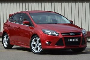 2012 Ford Focus LW MK2 Sport Maroon 6 Speed Automatic Hatchback Homebush Strathfield Area Preview