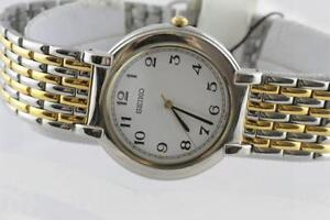 NEW IN BOX SEIKO TWO TONE LADIES WATCH FOR SALE