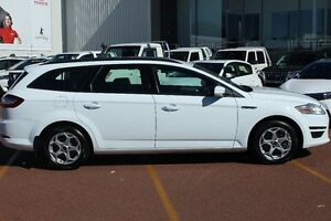 2013 Ford Mondeo MC LX PwrShift TDCi White 6 Speed Sports Automatic Dual Clutch Wagon Westminster Stirling Area Preview