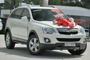 2012 Holden Captiva CG Series II 5 White 6 Speed Sports Automatic Wagon Pennant Hills Hornsby Area Preview