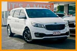 2015 Kia Carnival YP MY16 Platinum Clear White 6 Speed Sports Automatic Wagon Mount Gravatt Brisbane South East Preview