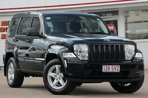2012 Jeep Cherokee KK MY12 Sport 4x2 Black Forest 4 Speed Automatic Wagon Woolloongabba Brisbane South West Preview