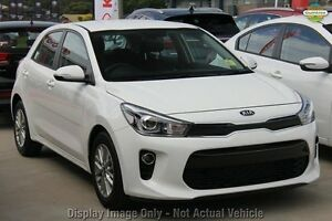 2017 Kia Rio YB MY17 SI Platinum Graphite 4 Speed Sports Automatic Hatchback Waitara Hornsby Area Preview