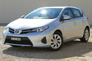 2015 Toyota Corolla ZRE182R MY15 Ascent Silver Pearl 7 Speed CVT Auto Sequential Hatchback Windradyne Bathurst City Preview