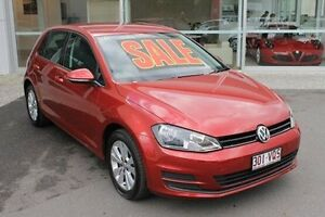 2015 Volkswagen Golf VII MY15 90TSI DSG Comfortline Red 7 Speed Sports Automatic Dual Clutch Mount Gravatt Brisbane South East Preview