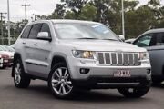 2011 Jeep Grand Cherokee WK MY2011 Limited 70th Anniversary Silver 5 Speed Sports Automatic Wagon Mount Gravatt Brisbane South East Preview