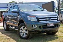 2015 Ford Ranger PX XLT Metropolitan Grey Semi Auto Utility Capalaba West Brisbane South East Preview