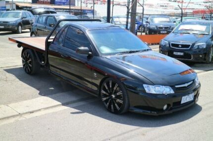 2003 Holden Commodore VY SS Black 6 Speed Manual Utility Brooklyn Brimbank Area Preview