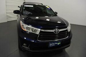 2014 Toyota Kluger GSU55R GX (4x4) Dynamic Blue 6 Speed Automatic Wagon Moorabbin Kingston Area Preview