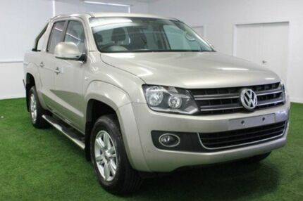 2015 Volkswagen Amarok  Beige Automatic Utility Moonah Glenorchy Area Preview