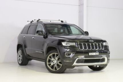 2013 Jeep Grand Cherokee WK MY2014 Limited Black 8 Speed Sports Automatic Wagon Wyong Wyong Area Preview