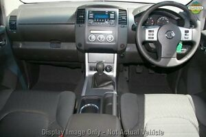 2013 Nissan Navara D40 S6 MY12 ST White 6 Speed Manual Utility Northbridge Perth City Area Preview