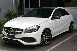 2016 Mercedes-Benz A250 W176 807MY Sport D-CT 4MATIC White 7 Speed Sports Automatic Dual Clutch Hilton West Torrens Area Preview