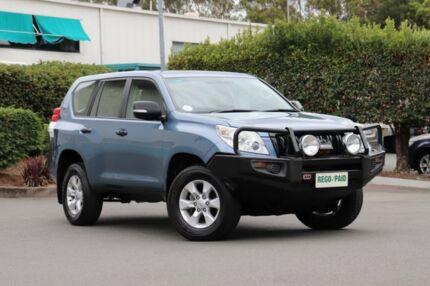 2013 Toyota Landcruiser Prado KDJ150R GX Blue 5 Speed Sports Automatic Wagon Acacia Ridge Brisbane South West Preview