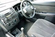 2007 Nissan Tiida C11 MY07 ST-L Black 6 Speed Manual Hatchback Upper Ferntree Gully Knox Area Preview