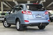 2010 Hyundai Santa Fe CM MY10 SLX CRDi (4x4) Blue 6 Speed Automatic Wagon Cannington Canning Area Preview