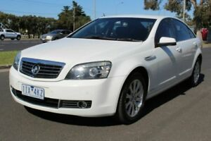 2006 Holden Statesman WM White 5 Speed Sports Automatic Sedan