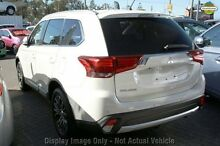 2016 Mitsubishi Outlander ZK MY16 LS (4x2) White 5 Speed Continuous Variable Wagon Wilson Canning Area Preview