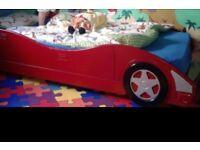 Race Car Single Bed