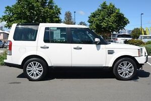 2010 Land Rover Discovery 4 Series 4 10MY TdV6 CommandShift HSE White 6 Speed Sports Automatic Wagon Moorooka Brisbane South West Preview