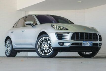 2014 Porsche Macan 95B MY15 S PDK AWD Silver 7 Speed Sports Automatic Dual Clutch Wagon