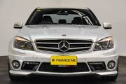 2008 Mercedes-Benz C63 W204 AMG Silver 7 Speed Sports Automatic Sedan Edgewater Joondalup Area Preview