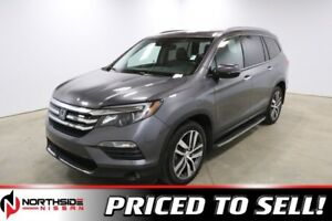 2016 Honda Pilot 4WD TOURING Accident Free,  Navigation,  Leathe