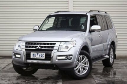 2016 Mitsubishi Pajero NX MY16 GLX Silver 5 Speed Sports Automatic Wagon Frankston Frankston Area Preview