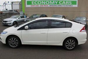 2012 Honda Insight ZE VTi White 1 Speed Constant Variable Hatchback Hybrid
