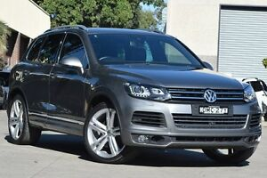 2014 Volkswagen Touareg 7P MY14 V8 TDI R-Line Grey 8 Speed Automatic Wagon Petersham Marrickville Area Preview