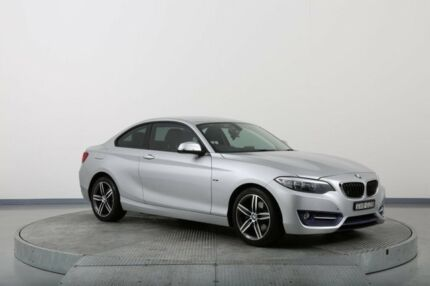 2014 BMW 220D F22 Silver 8 Speed Automatic Coupe
