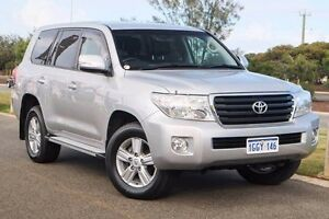 2013 Toyota Landcruiser VDJ200R MY13 Altitude Silver Pearl 6 Speed Sports Automatic Wagon Mindarie Wanneroo Area Preview
