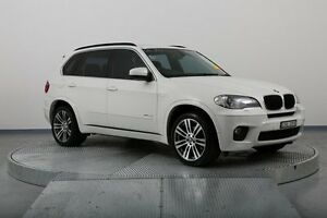 2010 BMW X5 E70 MY10 xDrive30d Steptronic White 6 Speed Sports Automatic Wagon Old Guildford Fairfield Area Preview