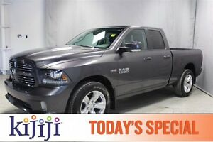 2014 Ram 1500 4WD QUADCAB SPORT Back-up Cam,  Bluetooth,  A/C,